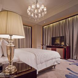 工装万达艾美酒店客房设计