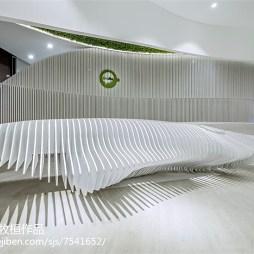 时尚售楼中心设计