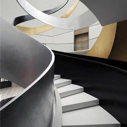 售楼处楼梯设计案例