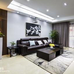 现代风格四居室客厅设计