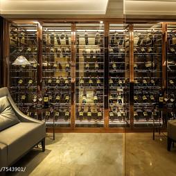 欧式风格家居酒窖设计