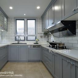 最新美式别墅厨房设计