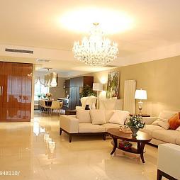 现代混搭风格客厅设计大全