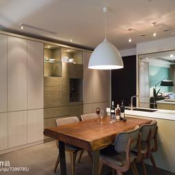 家装现代风格餐厅图片