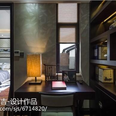 中式风格书房展示空间设计案例