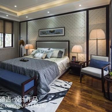 中式风格卧室展示空间效果图