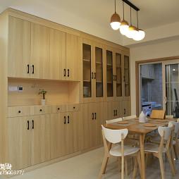 日式风格原木餐厅设计