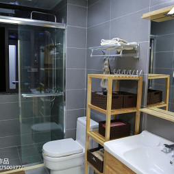 简约日式卫浴装修案例