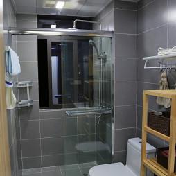 日式卫浴隔断门设计