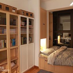 日式榻榻米书房设计案例