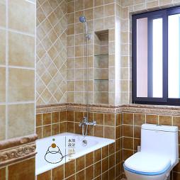 复古美式卫浴装修