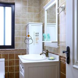 美式卫浴洗手台设计
