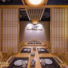 竹の里日式料理店包房设计