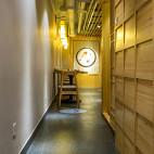 竹の里日式料理店过道装修