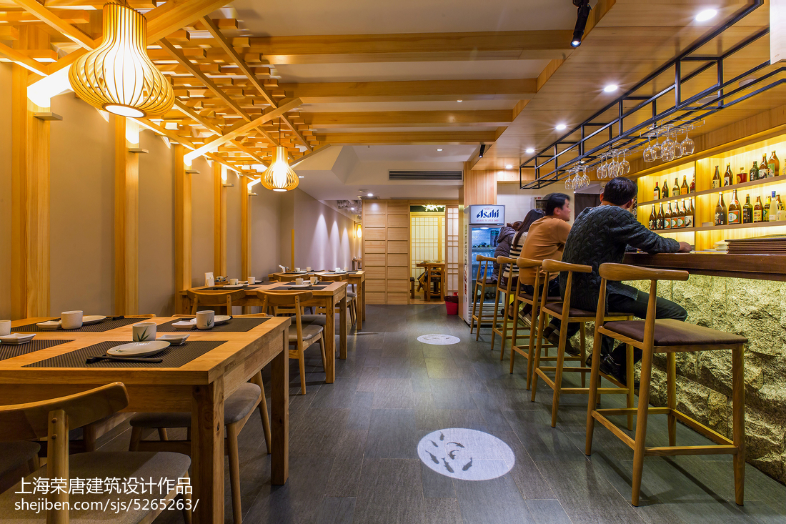 竹の里日式料理店设计案例