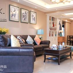 美式风格精美客厅装修