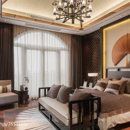 古典中式风格卧室设计案例