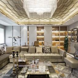 奢华简欧风格客厅设计