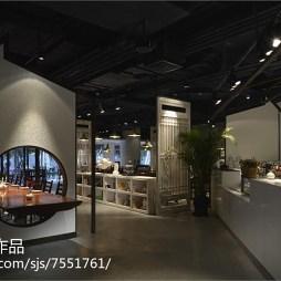 工装混搭风格餐厅过道设计