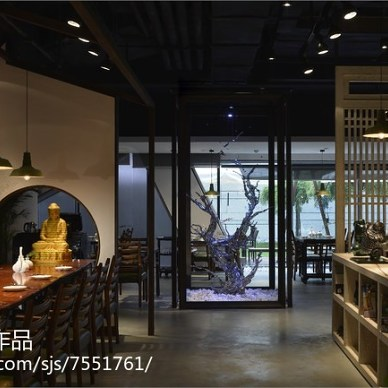 混搭风格餐厅设计方案