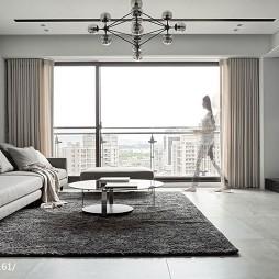悠然現代風格客廳設計