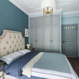 质感美式风格卧室布置