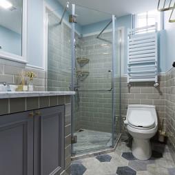 清新美式卫浴装修
