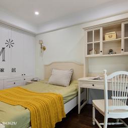 简洁美式卧室装修