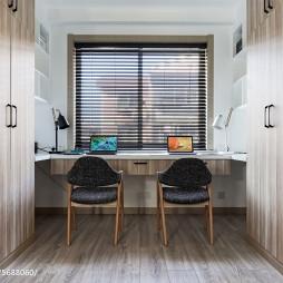 简约北欧风格书房设计案例