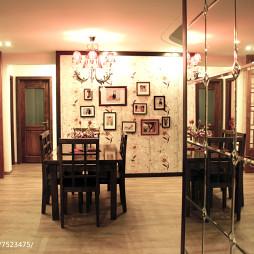 复古混搭风格餐厅设计