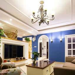 精美地中海风格客厅设计