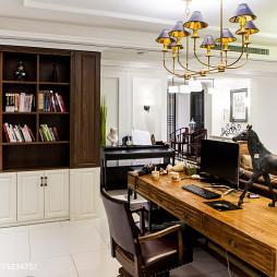 整洁混搭风格书房设计