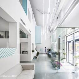 海狸工坊办公空间过道设计