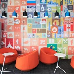 联合办公空间创意休闲区设计