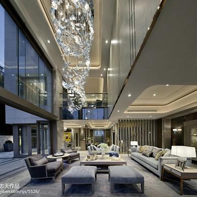 家装现代风格别墅样板房设计