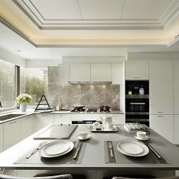 家居现代风格样板房厨房设计