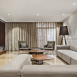 现代风格客厅装修大气