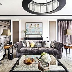 法式风格客厅装修