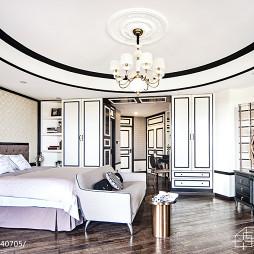家居法式风格卧室设计