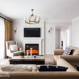 休闲美式客厅设计