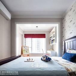 休闲美式儿童房装修图