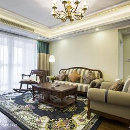素雅混搭风格客厅设计