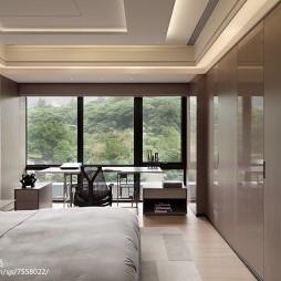 知性现代风格卧室布置