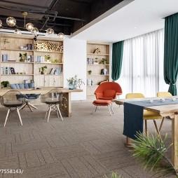 工装混搭风格办公空间设计