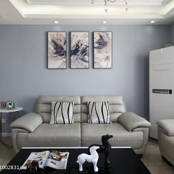 现代风质感客厅装修
