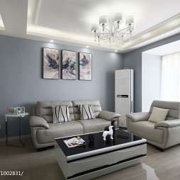 现代格调客厅装修案例