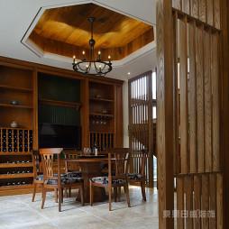 新中式风格酒窖装修