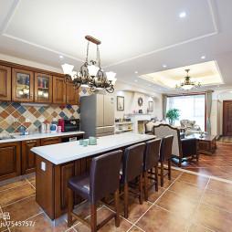 家居美式风格吧台设计案例