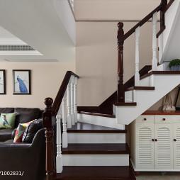 美式风格家居楼梯设计
