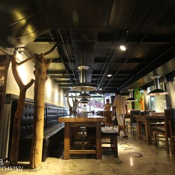 主题餐厅吊顶装修